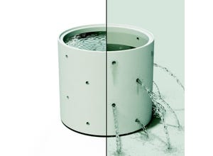 Buse de puits 2 en 1 - Ø 80 cm