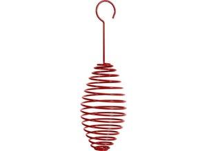 Support spirale pour boule de graisse - Rouge
