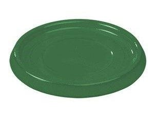 Soucoupe 22 cm émail vert