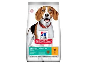 Adult Perfect Weight croquettes pour chien au poulet 12 kg