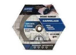 Disque diamant intensif carrelage 115