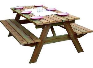 Table pique-nique épaisseur 45 mm