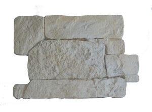 Placage Rocamadour en plaque (0.14m²) ton pierre
