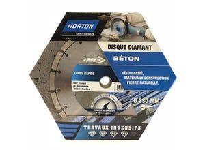 Disque diamant intensif construction diametre 230