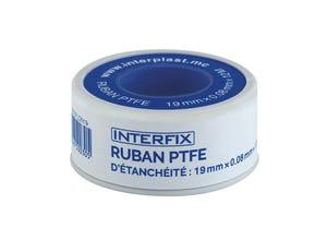 Ruban PTFE d'étanchéité Interfix 19mm
