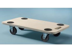 Plateau rouleur en bois 35x60 cm