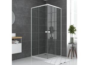 Paroi porte de douche carrée SPOT extensible 78/90cm