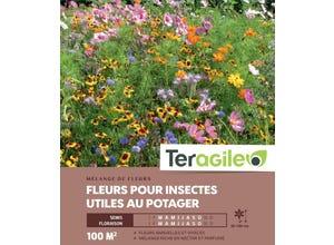 Fleurs pour insectes utiles au potager - 100 m²