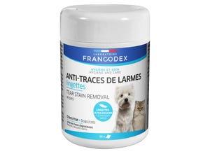 Lingettes anti-traces de larmes x 50