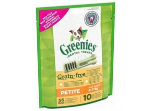 Friandises sticks dentaires Petite Grain Free 170g-GREENIE