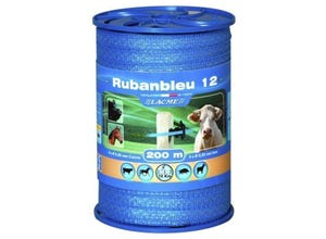 Ruban RUBANBLEU 12 mm bobine de 200 m LACME