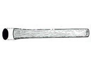 Manche de marteau coffreur 375x39x29mm frêne verni