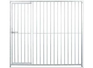 Panneau chenil avec porte 1,84 x 1,50 m