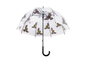Parapluie transparent oiseaux
