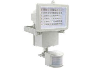 Projecteur solaire blanc à détection de mouvement