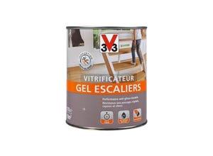 Vitrificateur gel escalier chêne moyen satin 0.75 L