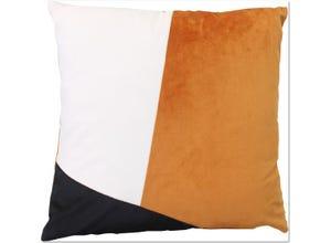 Coussin Chromatik brun doré 026 45 x 45 cm