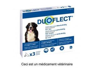 Pipettes antiparasitaires chien (40-60 kg) plaq/3
