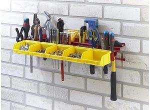 Porte outils tôle acier peinte