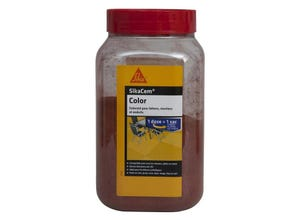 Colorant SikaCem Color rouge 800 g SIKA