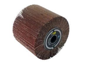 Brosse à lamelles abrasives A80  Ø120mm/L100mm