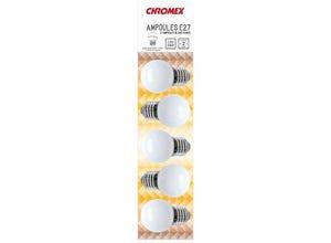 Blister 5 ampoules Blanc chaud E27