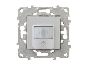 Unica2 détecteur mouvement, 3 fils tte charge - alu