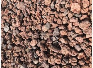 BAG 250 KG Pouzzolane rouge 15/50