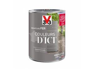 Peinture couleurs d'ici gris flotté 1,5L