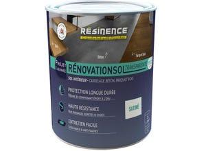 Résine sol - Rénovation Sol Transparente Satin 2L