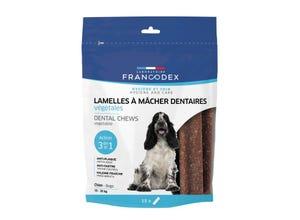 Lamelles à mâcher dentaires pour chien - 350 g