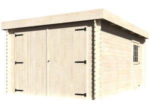 Garage GALAN toit plat 28 MM 326x480