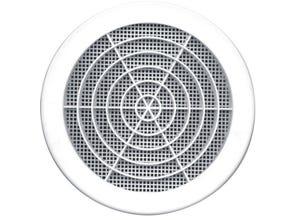Grille ronde avec moustiquaire Ø123mm - AUTOGYRE