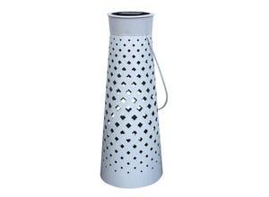 Lanterne solaire Diamanti 1 LED blanc fixe
