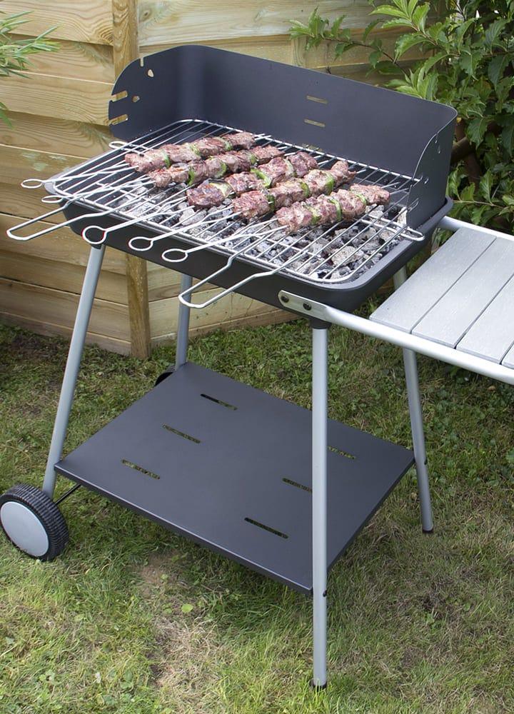 barbecue 2 en 1 plancha