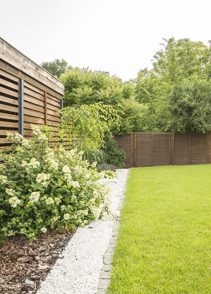 palissade de jardin en bois