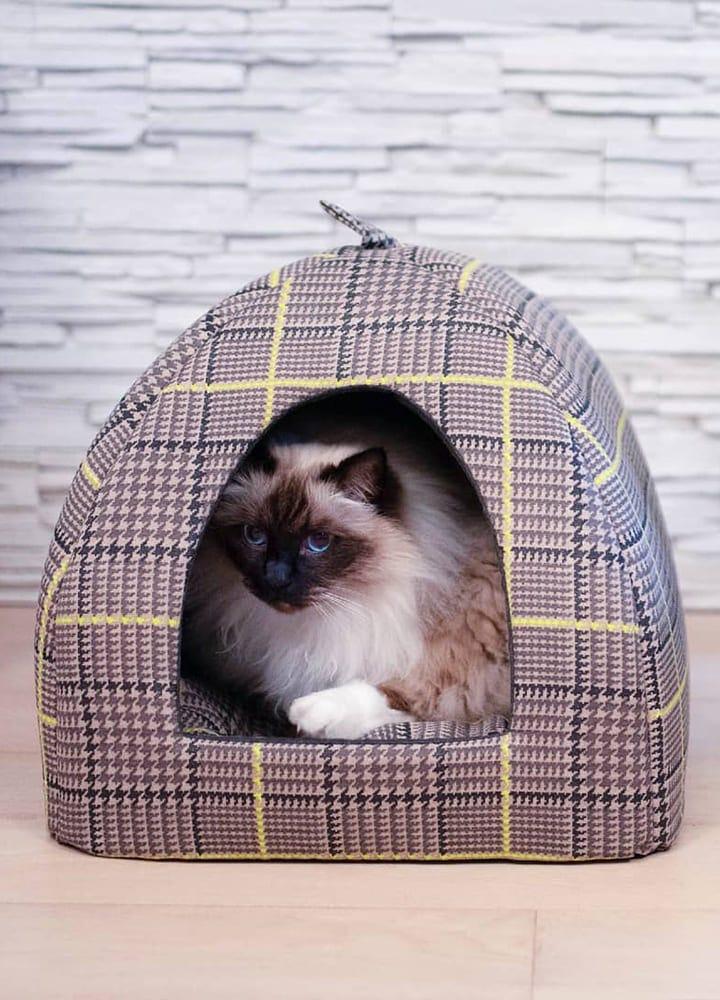 maisonnette en tissu pour chat
