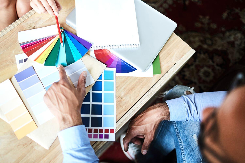 nuancier peinture intérieure décoration