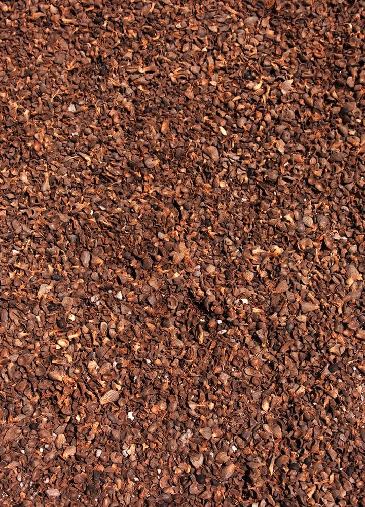 paillis naturel coques de cacao pour potager