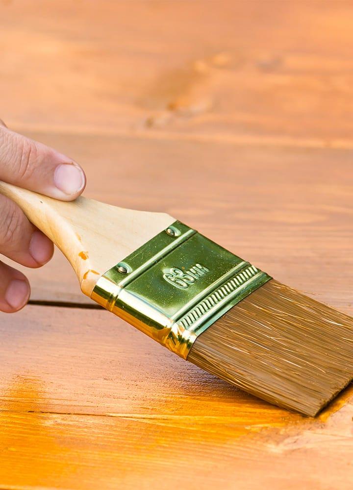 pinceau plat peinture