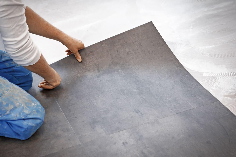 préparation pose revêtement PVC