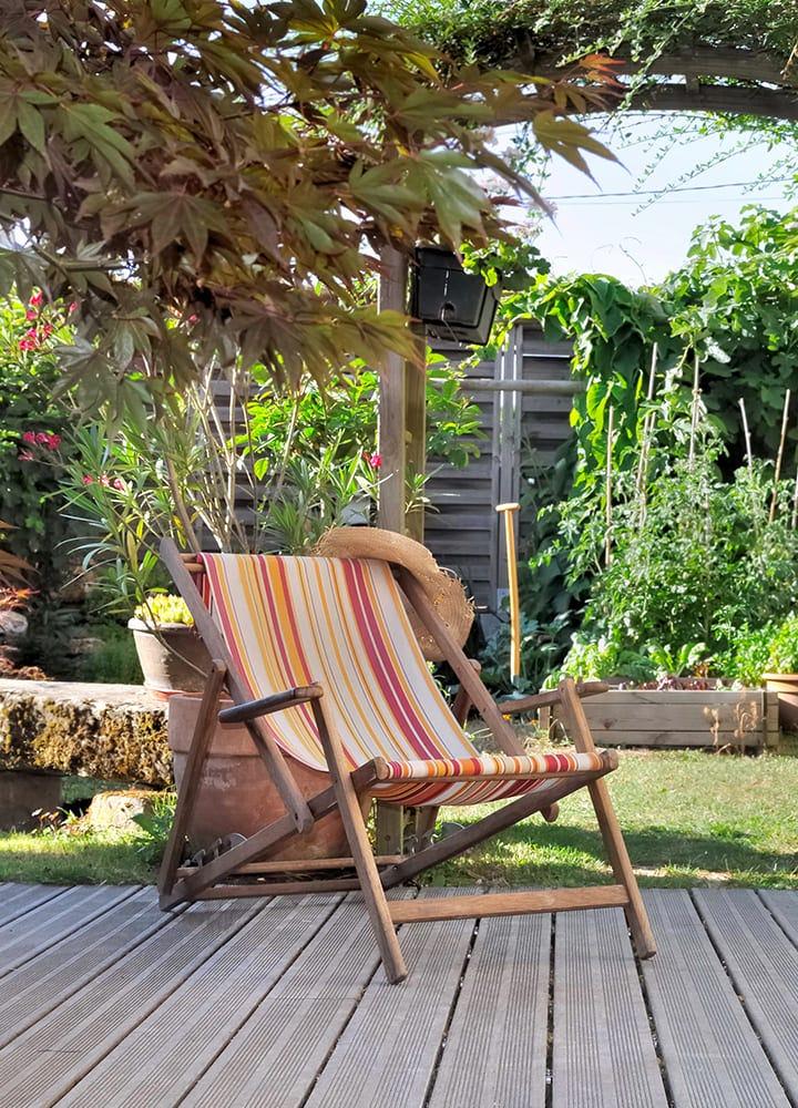 fauteuils de jardin pour détente